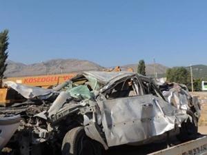 Denizli'de korkunç kaza: 4 ölü