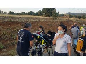 Otomobil transit araca çarptı: 3 yaralı