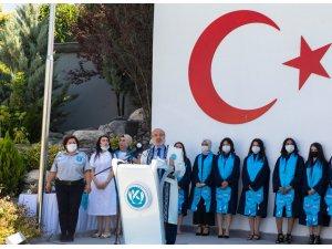 KAYÜ'de Sosyal Bilimler MYO Mezuniyet ve Şed Bağlama Töreni düzenlendi