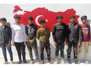 Osmaniye'de 7 yabancı uyruklu yakalandı