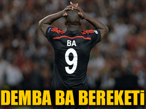 Demba Ba bereketi: 10 milyon TL!