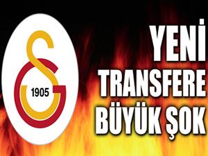 Galatasaray'ın yeni yıldızına büyük şok!