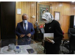 YÖK Yürütme Kurulu Üyesi Tufan ve YÖK Üyesi Yaylalı'dan Atatürk Üniversitesine ziyaret