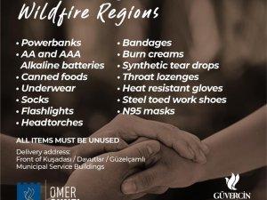 Kuşadası Belediyesi'nden yangın bölgeleri için 5 dilde kampanya