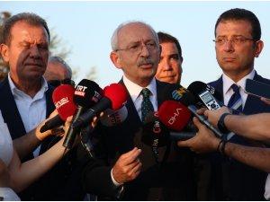 Kılıçdaroğlu, THK Üniversitesi Türkkuşu Yerleşkesi'ni ziyaret etti