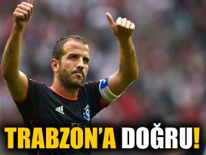 Van der Vaart, Trabzonspor'a doğru