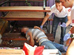 Antalya'da bonzai içen genç ölümden döndü!