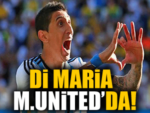 Di Maria, 99 milyon dolara Manchester United'da
