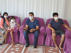 Dikkat bu Mahallede maske takılmadan dolaşmak yasaktır!