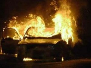 Bursa'da LPG'li araç yandı: 1 ölü!