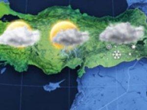 Yurt genelinde hava durumu!