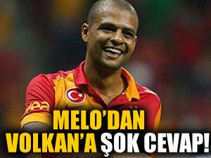 Felipe Melo'dan Volkan Demirel'e şok cevap!