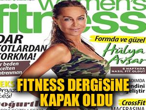 Hülya Avşar Fitness dergisine kapak oldu!