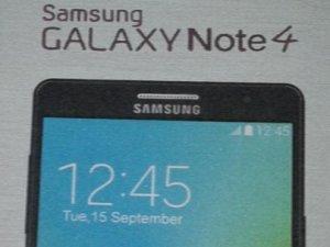 Galaxy Note 4'de yeni gelişmiş özellik!