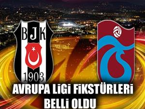 İşte Beşiktaş ve Trabzonspor'un Avrupa Ligi fikstürleri!