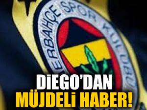 Fenerbahçe'ye Diego'dan müjdeli haber!