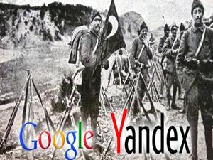 Google unutsada Yandex unutmadı...