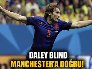Daley Blind Mancester'a doğru!