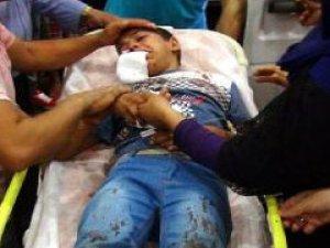 9 yaşındaki çocuğu polisin attığı gaz  fişeği mi vurdu?