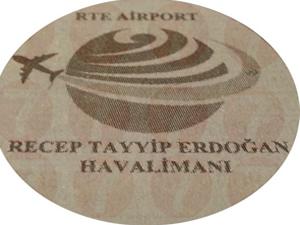 3.havalimanı RTE Airport'un logosu bile hazırlandı!
