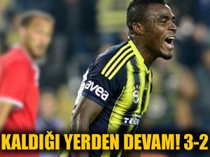 Fenerbahçe kaldığı yerden devam! 3-2