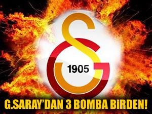 Galatasaray transferin son gününde bombaları patlattı!