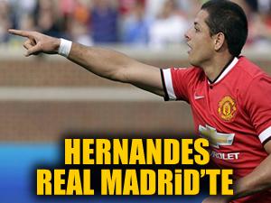 Real Madrid, Javier Hernandez'i kiraladı