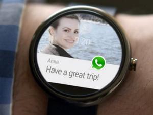Android Wear'a Watsapp uygulaması geliyor!