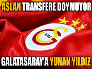 Galatasaray'a Yunan yıldız!