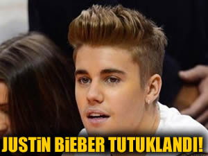 Justin Bieber yine tutuklandı