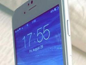İşte 4.7 inç'lik çalışan iPhone 6