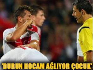 Emre Belözoğlu: Hocam durun Ozan ağlıyor!
