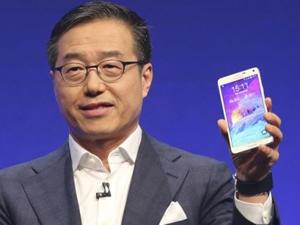Samsung Galaxy Note 4'ü tanıttı