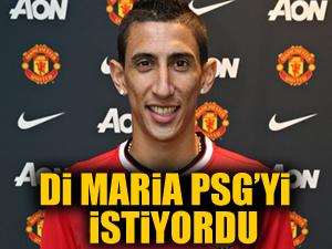 'Di Maria, PSG'ye gelmek istiyordu'
