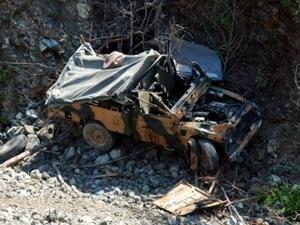 Diyarbakır'da askeri araç devrildi: 7 yaralı
