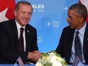 SON DAKİKA! Erdoğan, Obama ile görüşmeye başladı