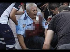 Ankara'da hırsız-polis çatışması! 3 polis yaralı