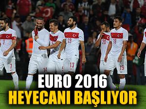 Millilerin 2016 Avrupa şampiyonası yolculuğu başlıyor