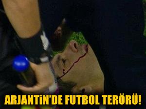 Arjantinde futbolda terör yaşandı!
