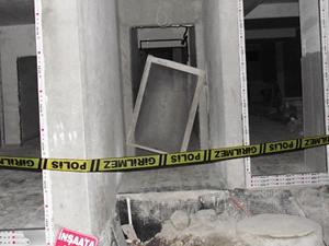 Asansör kazasında 2 gözaltı