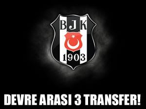Devre arası 3 transfer sözü