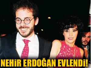 Nehir Erdoğan ile Ahmet Sesigürgil dünya evine girdi