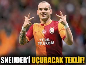 Sneijder 2 yıl daha G.Saray'da