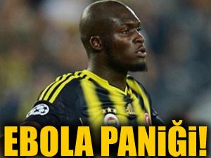 Fenerbahçe'de Ebola virüsü  paniği