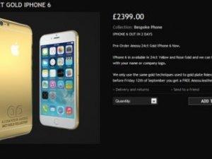 Altın iPhone 6 ön siparişe sunuldu!