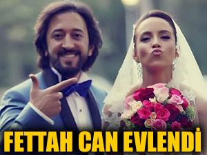 Fettah Can ve Cansu Kurtçu evlendi!