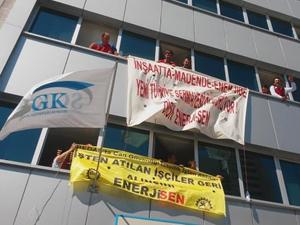 İşçiler SGK ve BEDAŞ binalarını işgal ettiler