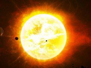 Güneş'te dev patlama! Dünyaya doğru yol aldı
