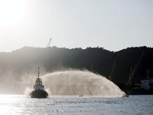 Greenpeace üyelerine tazyikli suyla müdahale edildi:16 gözaltı