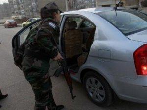 Suriye'ye ait araçta 100 kilo patlayıcı bulundu